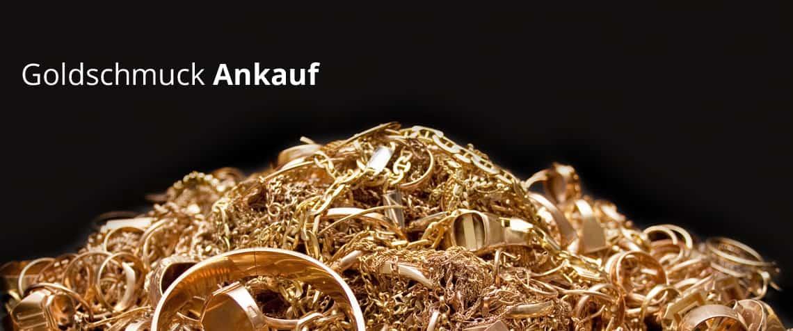 Goldschmuck Ankauf: Goldschmuck online verkaufen